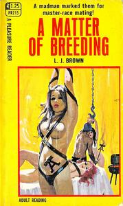 bondage pulp with chains and branding iron