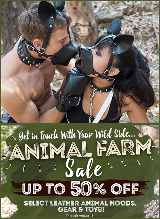 animal farm sale banner