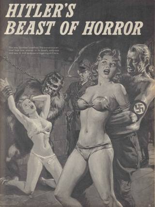 girls in tiny underwear getting interrogated by evil nazis