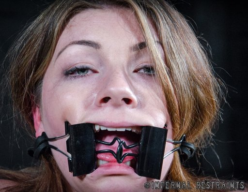 fish-hook gagged with binder clips for Harley Ace