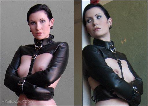bolero leather straitjacket