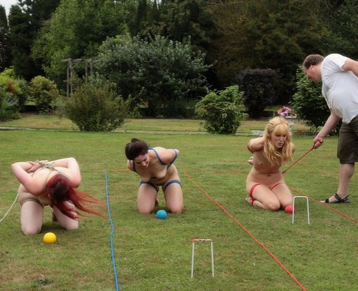 naked girl bondage croquet