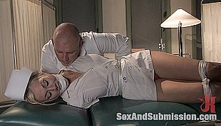 bondage nurse waking up