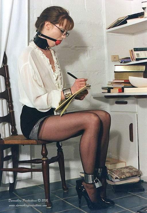 secretary in bondage
