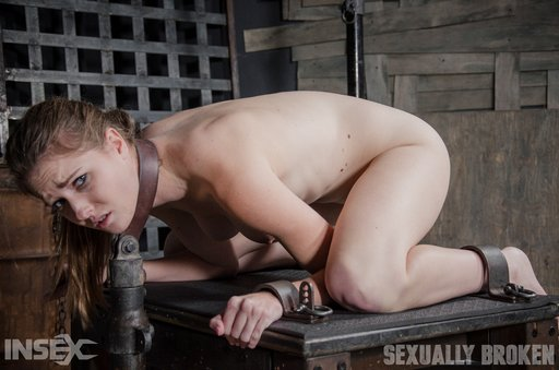 ashley lane in a tight bondage sex package