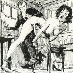 spanking and bondage