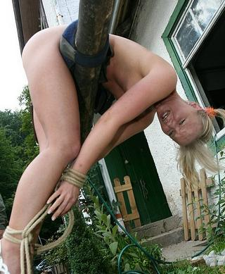 whipped bondage blonde