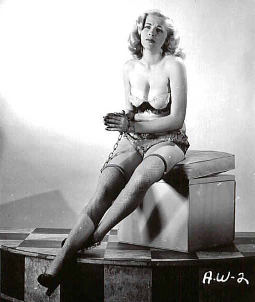 chained blonde irving klaw photo