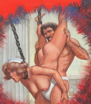 nurse in bondage chains