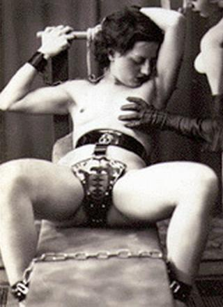 vintage chastity belt