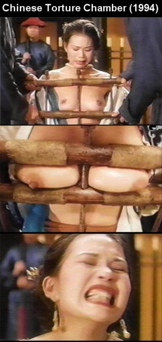 breast press boobs in bondage