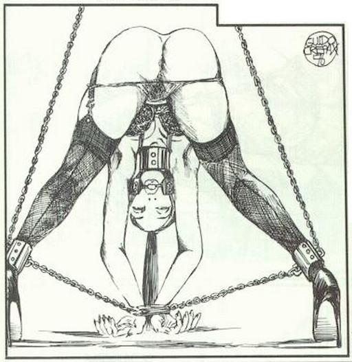 crepax bondage art