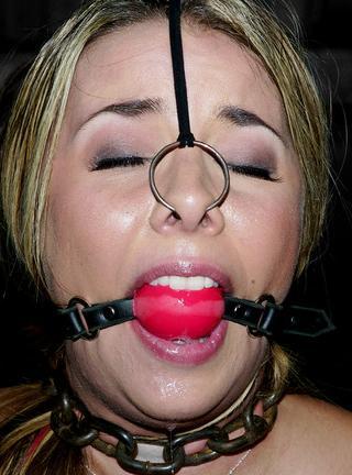 nose ring bondage