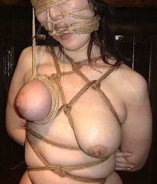 face bondage with hemp rope