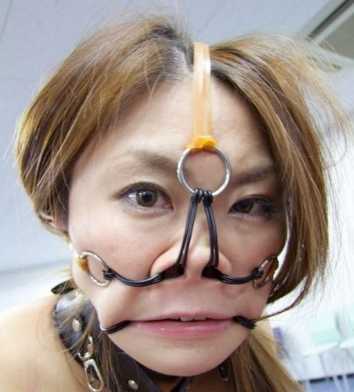 nose hooked japanese girl