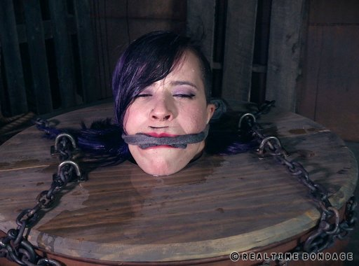 after her water torture gagged with a sponge