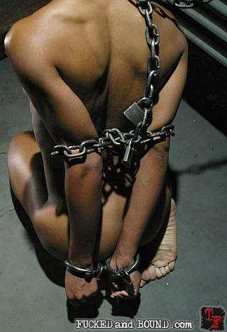 marie luv chained up