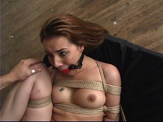 pretty girl fucked in bondage