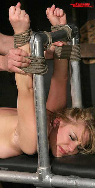 bondage sex in the fucking dungeon