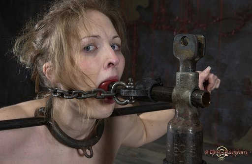 gagged and restrained