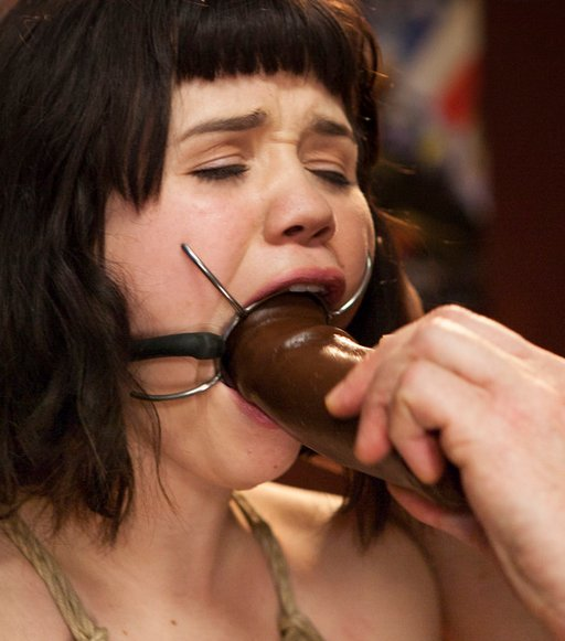 dildo deep-throating