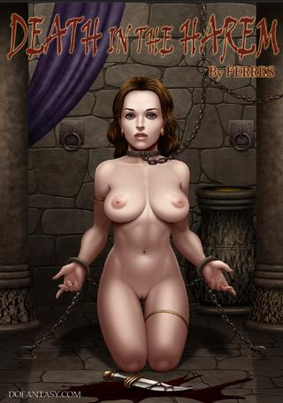cover art for Death In The Harem