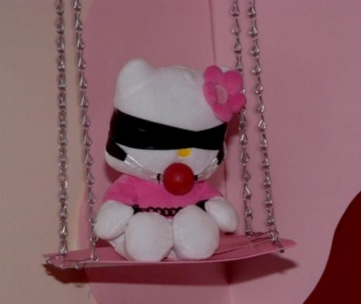 bondage Hello Kitty doll
