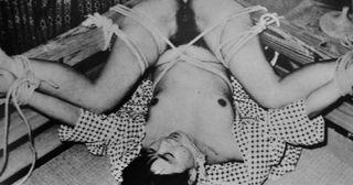 exposed in bondage