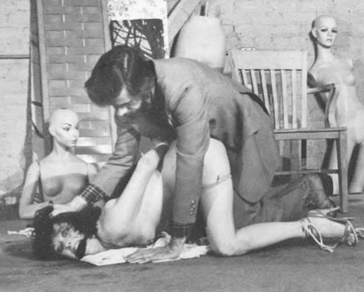 John Blakemore bondage sex in a basement