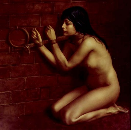 hungry and and naked in the dungeons of the Spanish inquisition