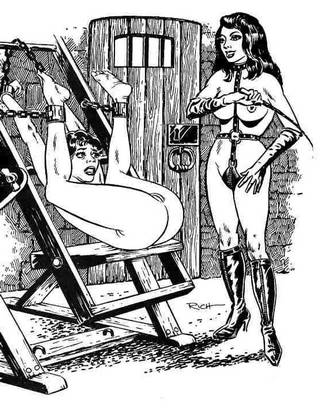 chained for pussy whipping interrogation