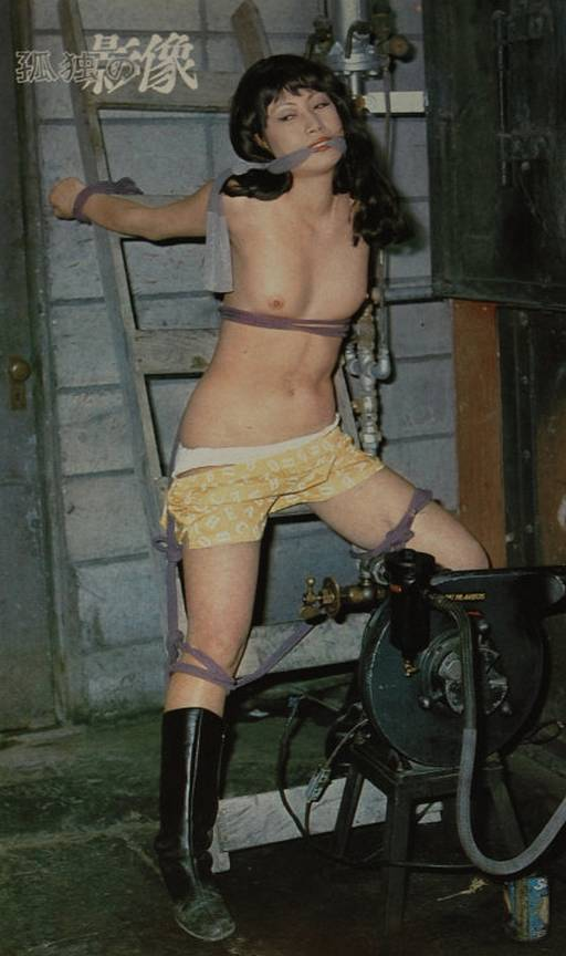 japanese basement bondage