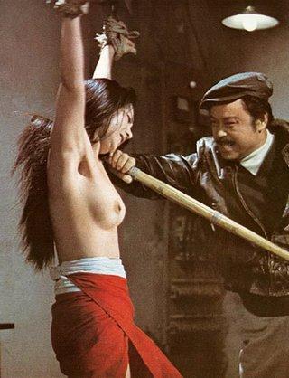 unlucky asian girl interrogated in prison hellhole