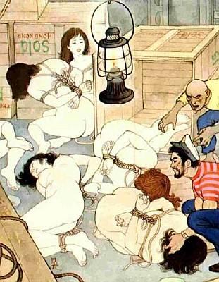 japanese slave girl bondage