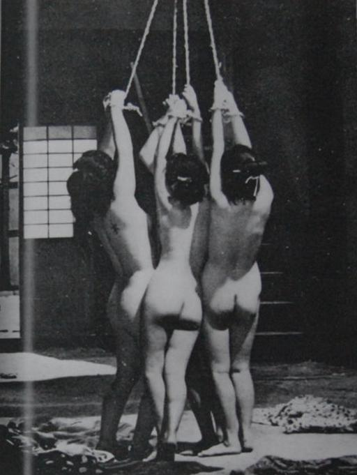 four japanese women tied for whipping