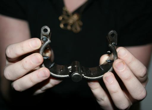 kali\'s teeth femdom chastity device