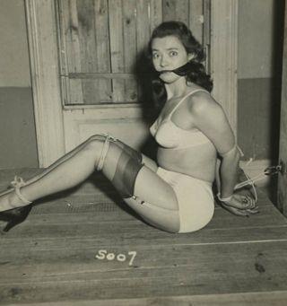 Irving Klaw vintage bondage