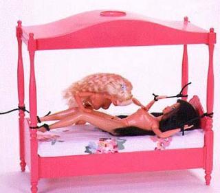 lesbian barbie in bondage