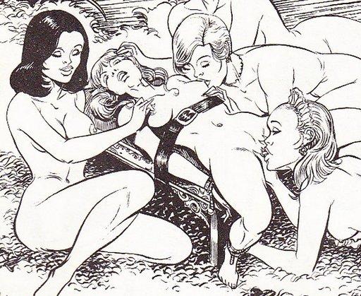 lesbian bondage artwork
