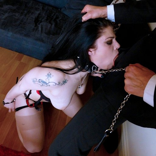leashed BJ