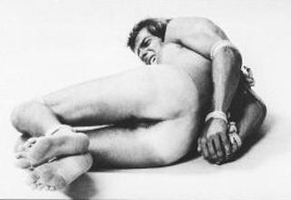 man in bondage