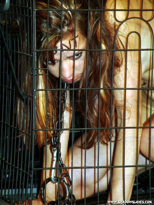 caged and miserable