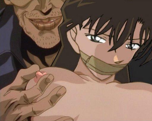hentai manga bondage nipple pinching tape gag