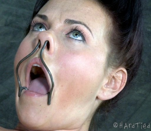 Open mouth gag bdsm