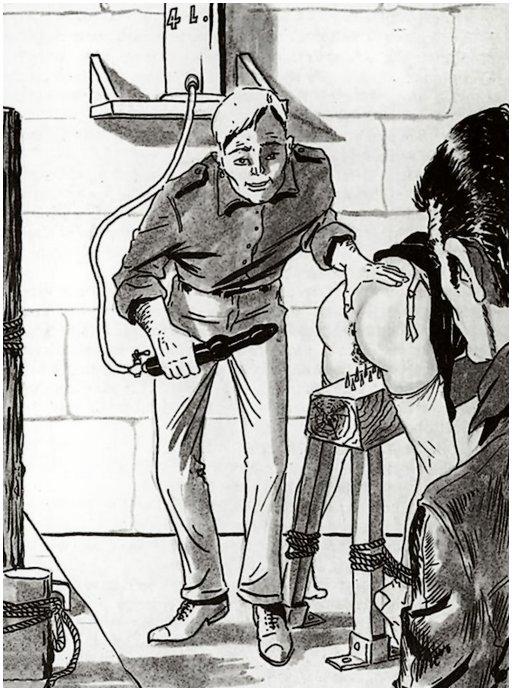 painful punishment enema