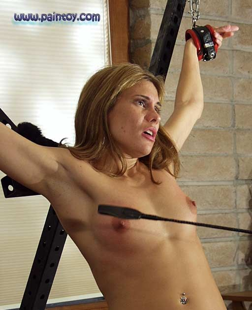 riding crop tit whipping