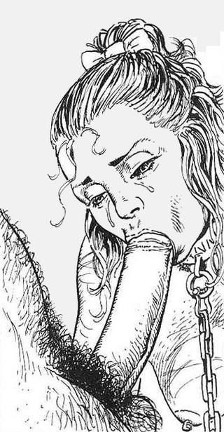 penis sucked by slavegirl
