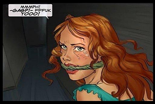 defiant redhead