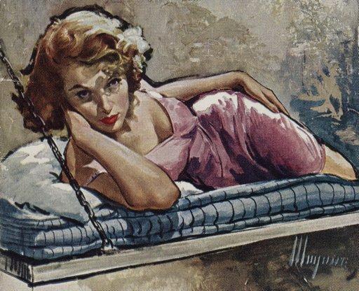 girl on prison bunkbed