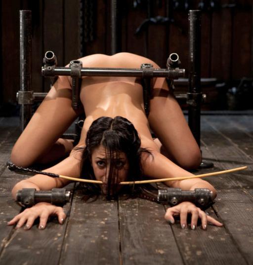 Bondage and caning